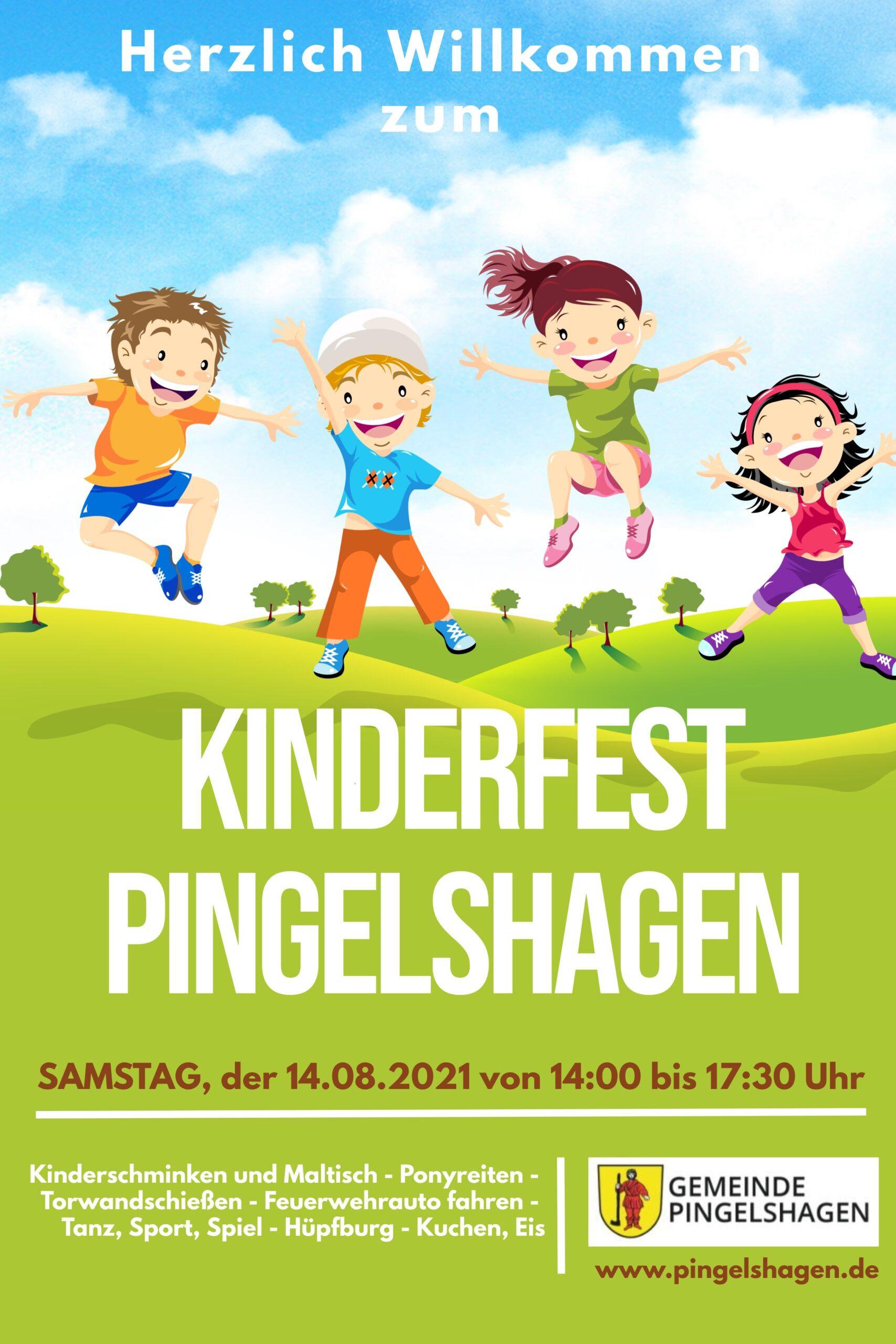 Kinderfest in Pingelshagen