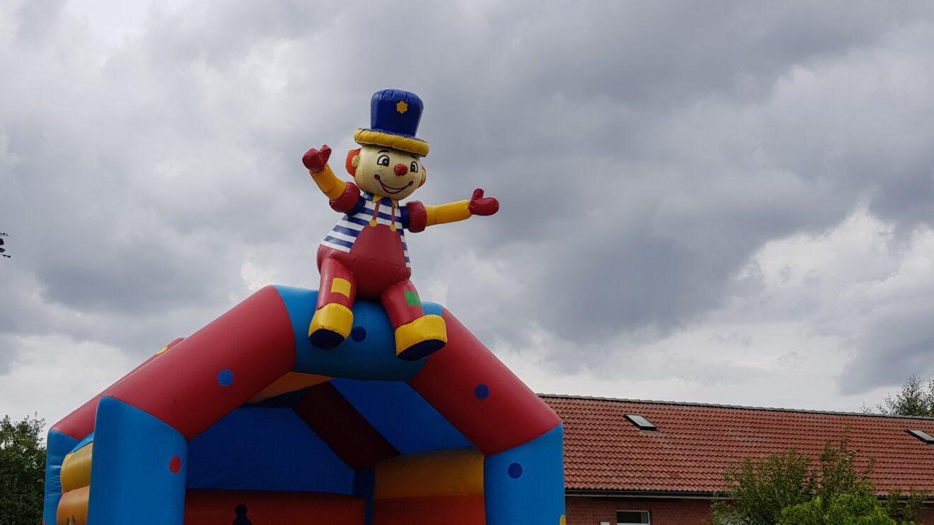 Das erste Kinderfest in der Gemeinde Pingelshagen